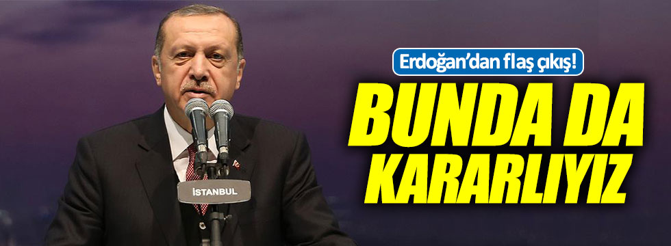 """Erdoğan: """"İnşallah uçak gemimizi de yapacağız, bunda da kararlıyız!"""""""