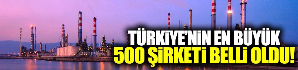 Fortune 500 Türkiye açıklandı!