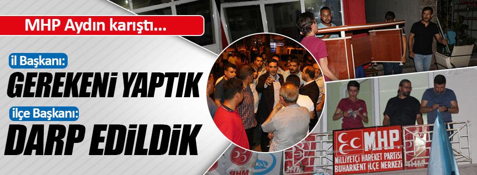MHP Aydın karıştı!