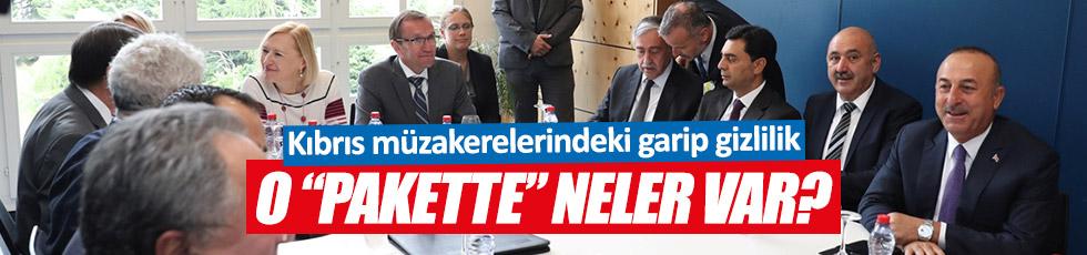 Kıbrıs müzakerelerindeki garip gizlilik