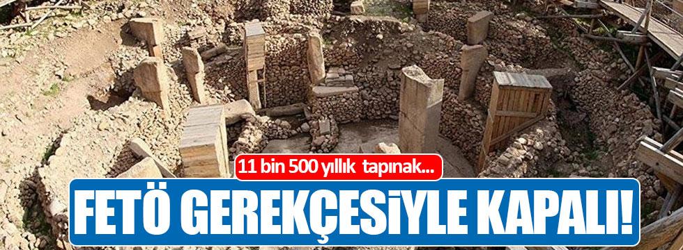 11 bin 500 yıllık tapınak 'FETÖ' gerekçesiyle 15 aydır kapalı