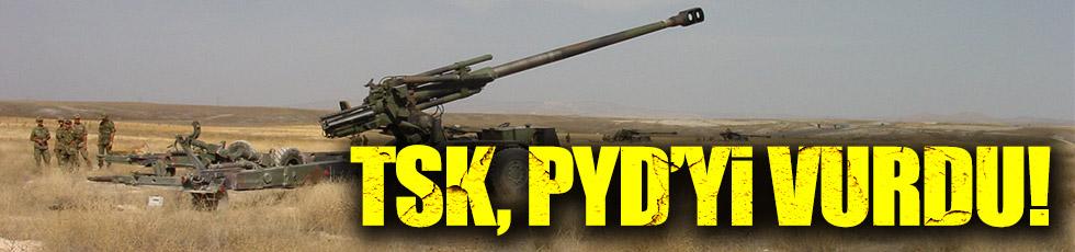 TSK, PYD'yi vurdu!