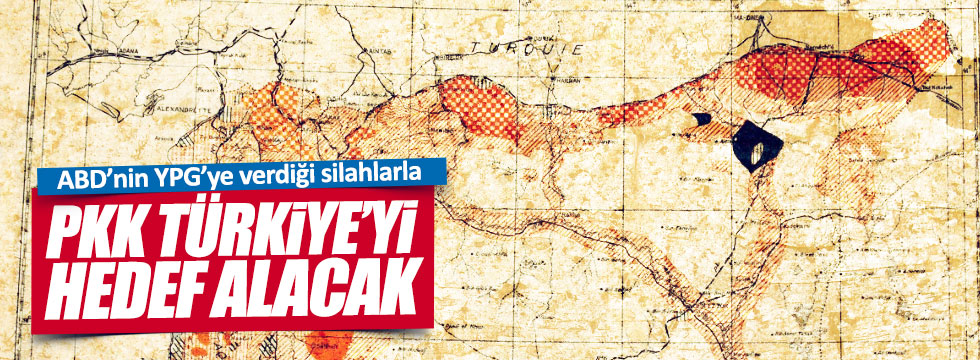 """""""ABD'nin hedefi PKK devletçiği"""""""