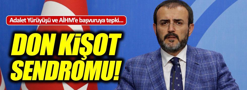 """AKP'den Adalet Yürüyüşü açıklaması: """"Don Kişot"""""""
