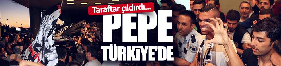 Pepe'ye coşkulu karşılama