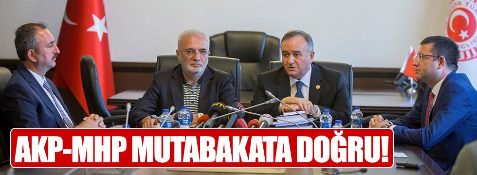 AKP-MHP içtüzük için bir araya geldi