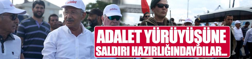 Adalet Yürüyüşü'ne saldırı hazırlığındaki teröristler yakalandı