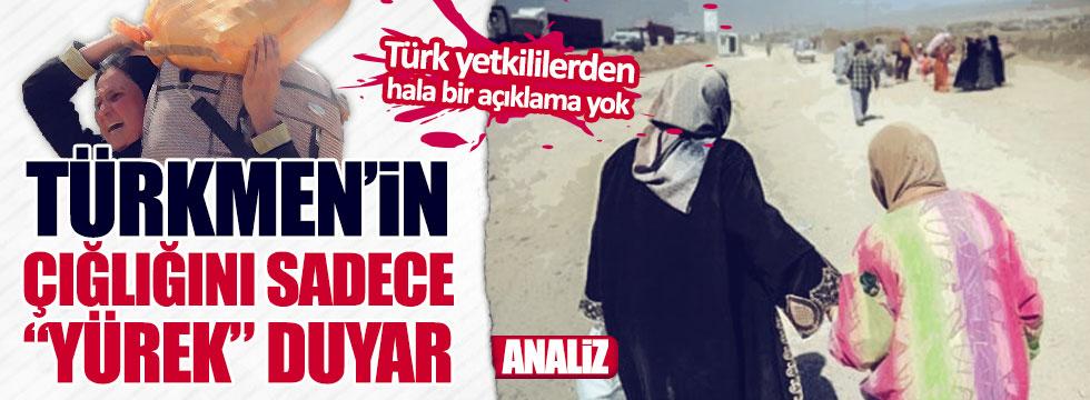 """Akdemir:""""Türkmen'in çığlığını sadece """"yürek"""" duyar"""""""