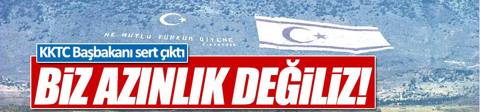KKTC Başbakanı Özgürgün: Biz azınlık değiliz!