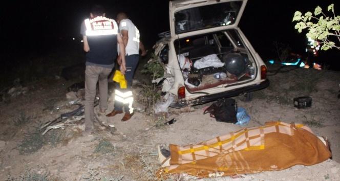 Niğde'de katliam gibi kaza: 4 ölü, 8 yaralı