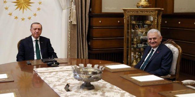 Sürpriz Erdoğan-Yıldırım görüşmesi