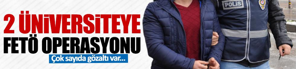 Konya'da 2 üniversiteye operasyon