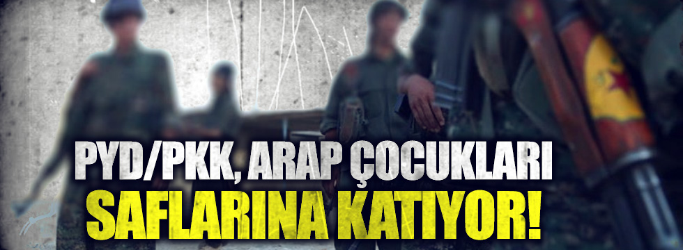 PKK Arap çocukları eğitiyor