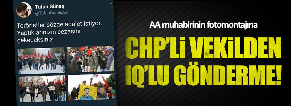 CHP'li Aksünger'den AA muhabirine çok sert cevap