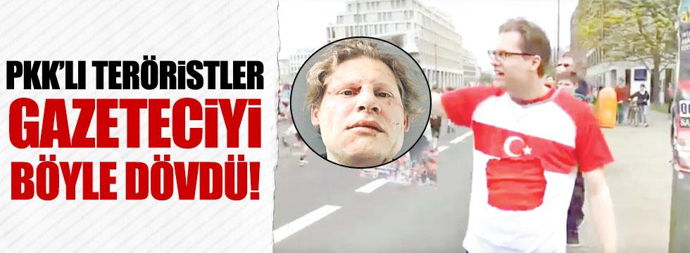 Alman gazeteciye PKK dayağı