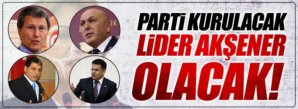 """""""Yeni parti kurulacak, lider Akşener olacak!"""""""
