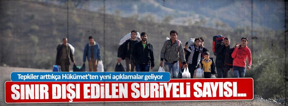 """""""Sınır dışı edilen Suriyeli sayısı... """""""