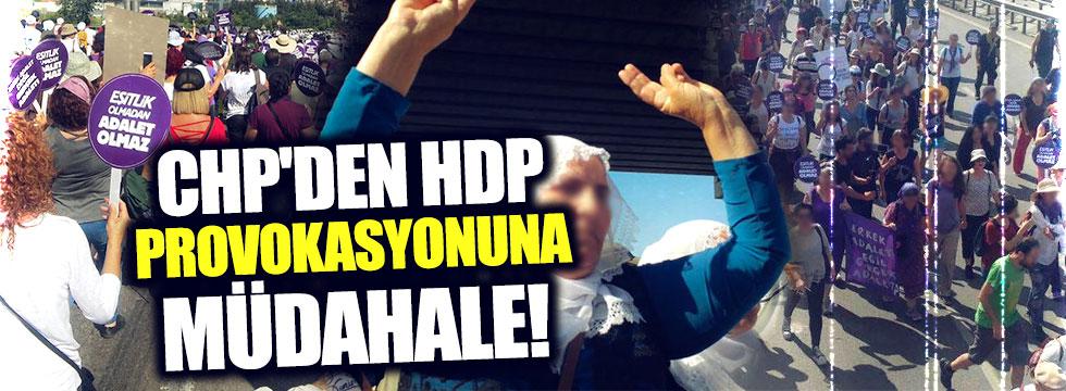 CHP'den HDP provokasyonuna müdahale