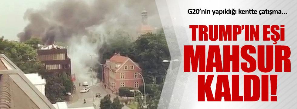 G20 zirvesine çatışmalı protesto