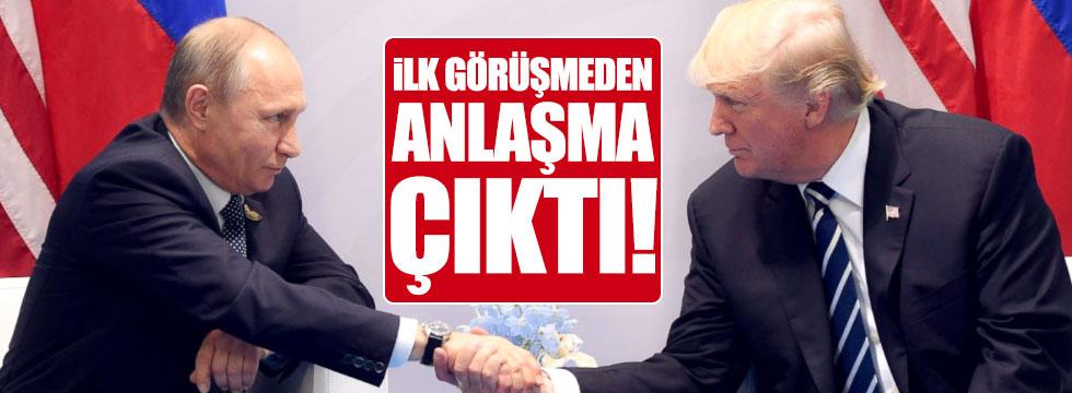 Putin ile Trump ilk kez bir arada