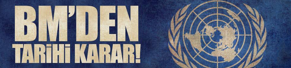 BM'den 'nükleer silah' kararı