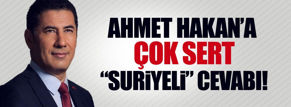 """Oğan'dan, Ahmet Hakan'a çok sert """"Suriyeli"""" cevabı!"""