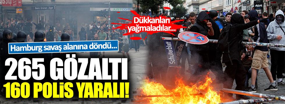 G-20 gerilimi: 160 polis yaralı, 265 gözaltı var!