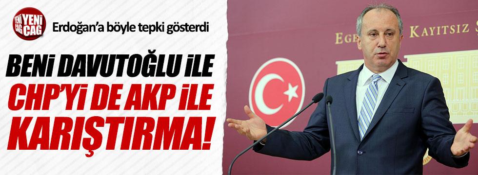 Muharrem İnce'den Erdoğan'a tepki