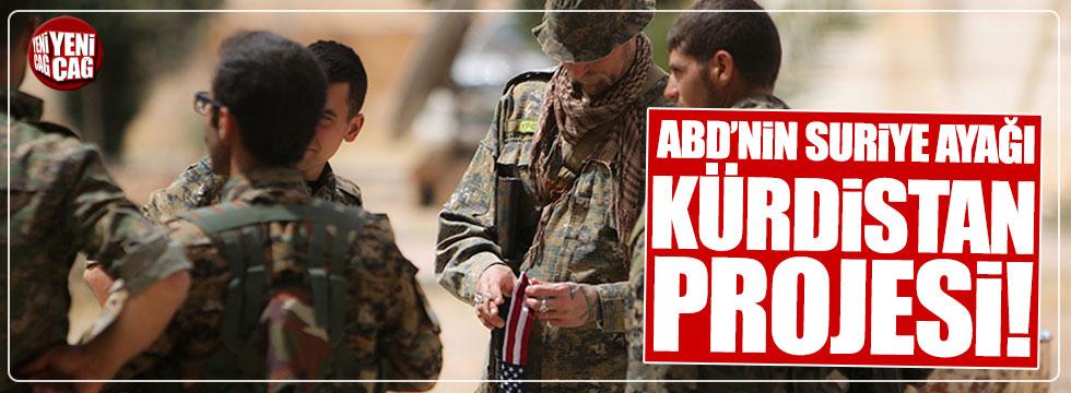 ABD'nin Suriye ayağı Kürdistan Projesi
