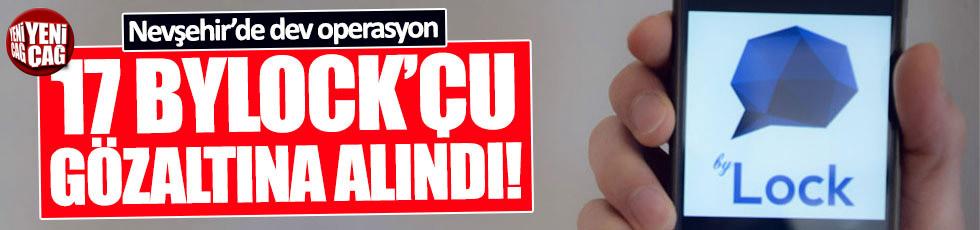 Nevşehir'de ByLock operasyonu