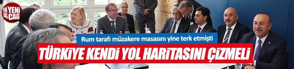 """""""Kıbrıs konusunda Türkiye kendi yol haritasını çizmeli"""""""