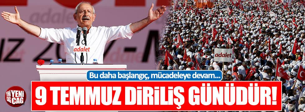 Kılıçdaroğlu'ndan Maltepe'de tarihi konuşma