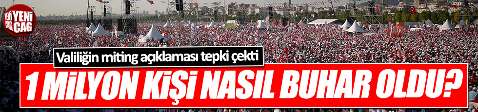 """İstanbul Valiliği """"Adalet Mitingi"""" katılımcılarını buharlaştırdı mı?"""