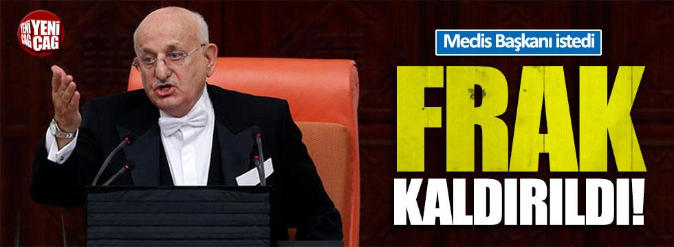 Meclis Başkanı istedi 'frak' kaldırıldı