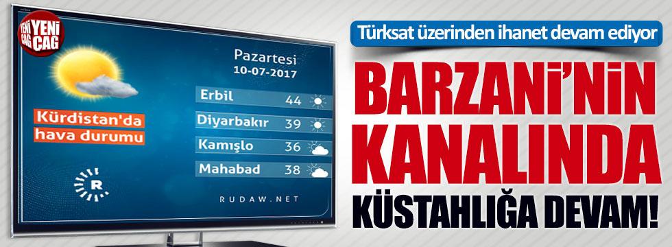 Buna kim ses çıkaracak? Barzani'nin TV'sinde küstahlık!