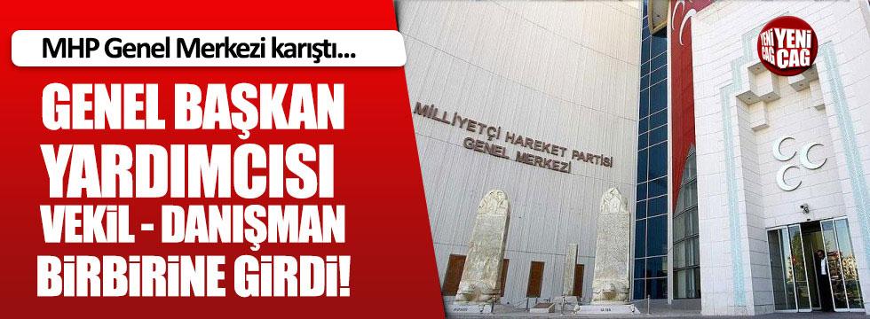 MHP Genel Merkezi karıştı!