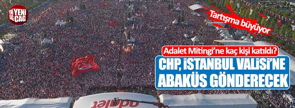 CHP, İstanbul Valisi'ne abaküs gönderecek