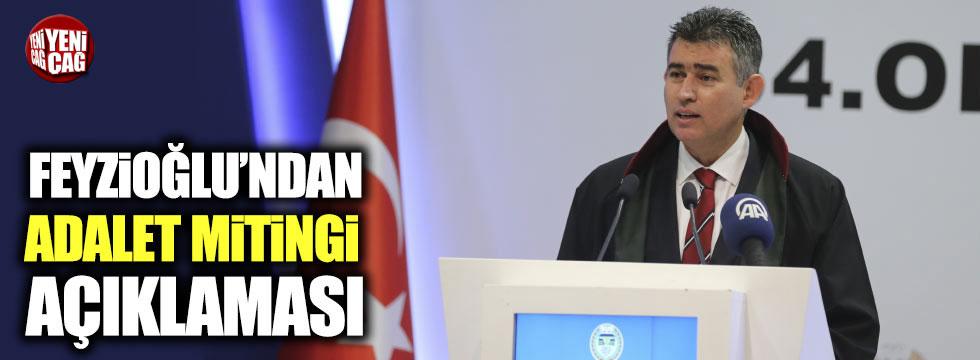 """Feyzioğlu'ndan """"Adalet Mitingi"""" açıklaması"""