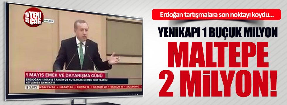 Erdoğan, tartışmalara son noktayı koydu!