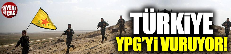 Türkiye, terör örgütü YPG'yi vuruyor!
