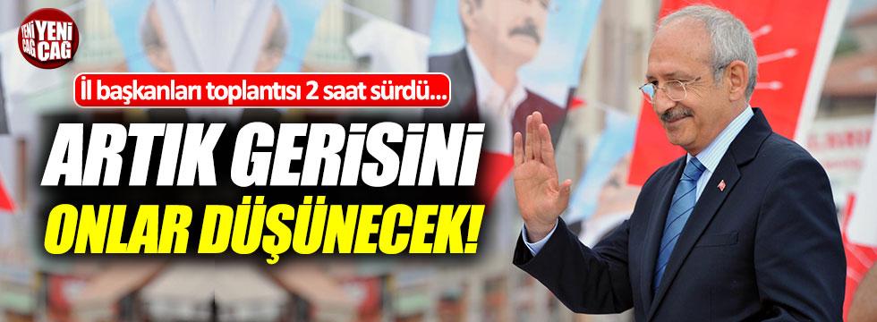 """Kılıçdaroğlu: """"Biz taleplerimizi ilettik, gerisini onlar düşünecek"""""""