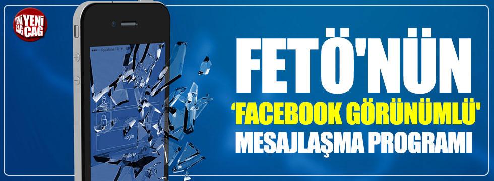 FETÖ'nün 'Facebook görünümlü' mesajlaşma programı