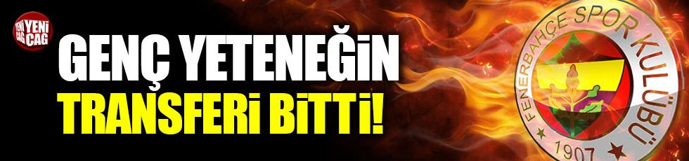 Süper genç yetenek Eljif Elmas Fenerbahçe'de!