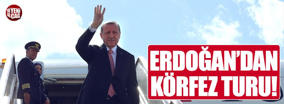 Erdoğan'dan Körfez turu