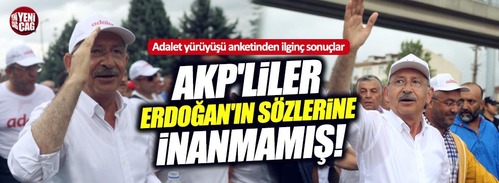 AKP'den yürüyüş anketi