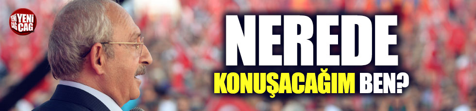 """Kılıçdaroğlu'ndan """"sokak eylemleri"""" açıklaması"""