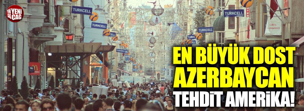 """""""En büyük dost Azerbaycan, tehdit Amerika!"""""""
