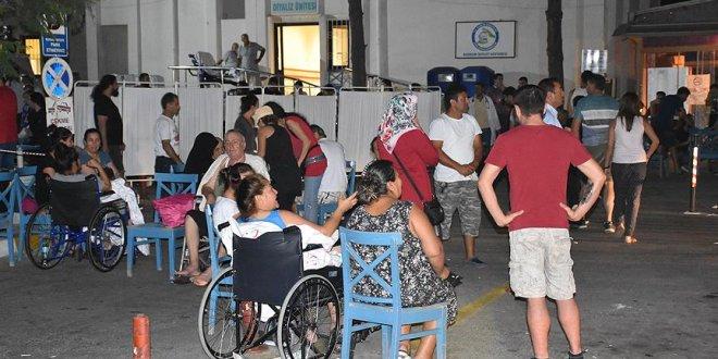Deprem sonrası 358 kişi...