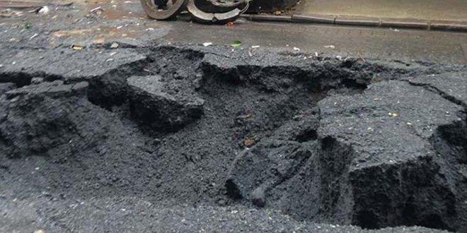 Sadece metal yorgunluğu değil asfalt bile bozuk!