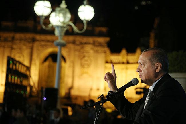 Erdoğan: Onlara terörist diyemezsiniz!
